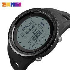 โปรโมชั่น Skmei 1246 Men Sports Countdown Chrono Double Time El Light Digital Watches 50M Waterproof Watches Intl ถูก