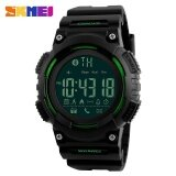 ขาย Skmei 1256 Men S Fashion Smart Step Bluetooth Connection Electronic Watch Green Intl ราคาถูกที่สุด