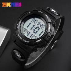 ส่วนลด Skmei 1258 แบรนด์ผู้ชายกีฬามัลติฟังก์ชั่ Led นาฬิกากันน้ำ Chronograph ทหารนาฬิกาข้อมือนาฬิกาดิจิตอลกลางแจ้ง Skmei ใน สมุทรปราการ