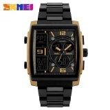 ส่วนลด Skmei 1274 Men S Electronic Watch Multi Function Outdoor Sports Electronic Watches Gold Intl