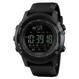 ซื้อ Skmei 1321 Men S Bluetooth Smart Watch Waterproof Digital Wristwatch With Pedometer Remote Camera Calorie Counter Black Intl Skmei