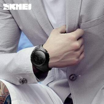 SKMEI 1326 Men Fashion Smart Watch Waterproof Pedometer Digital Wristwatches Remote Camera Calorie Bluetooth Watch -