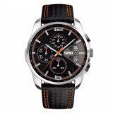 ขาย Skmei 9106คนกีฬานาฬิกาควอทซ์สายหนังนาฬิกาวันที่ 24Nนาฬิกาข้อมือกันน้ำนั้น ออนไลน์ Thailand