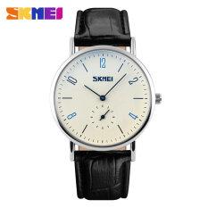 ขาย นาฬิกาข้อมือ 9120 ผู้ชาย 50แผ่นปฏิทินนาฬิกาควอทซ์กันน้ำ สีดำ Skmei ออนไลน์