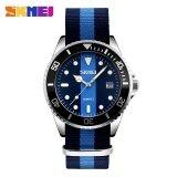 ซื้อ Skmei 9133 Watch Men S Clock Quartz Watch Canvas Men S Waterproof Watch 2 Intl ออนไลน์