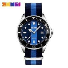 ขาย Skmei 9133 Watch Men S Clock Quartz Watch Canvas Men S Waterproof Watch 2 Intl ออนไลน์ ใน จีน