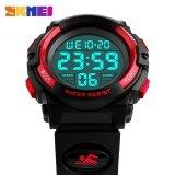 ราคา นาฬิกาข้อมือเด็กนาฬิกาข้อมือเด็กนาฬิกาเด็กกีฬากลางแจ้งนาฬิกาเด็กชาย 50 เมตรกันน้ำ Led ดิจิตอลนาฬิกาข้อมือ Relogio Relojes 1266 Skmei เป็นต้นฉบับ