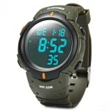 ราคา Skmei Brand Mens Sports Watches Dive 50M Digital Led Military Watch Fashion Casual Military Outdoor Wristwatches 1068 Green Intl Skmei จีน