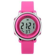 ทบทวน ที่สุด 1100 นาฬิกายี่ห้อ Skmei เด็ก Led ดิจิตอลนาฬิกา Relogio Feminino กีฬานาฬิกาเด็กการ์ตูนเยลลี่ Relojes Mujer กัน Wristwatches นานาชาติ