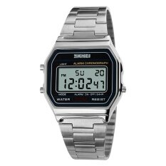 ราคา 1123 นาฬิกายี่ห้อ Skmei ร้อนผู้ชาย Led ดิจิตอลนาฬิกานาฬิกาสปอร์ตผู้ชาย Relogio Masculino Relojes สแตนเลสทหารกัน Wristwatches นานาชาติ ออนไลน์