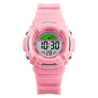 นาฬิกาแบรนด์ SKMEI ดิจิตอลนาฬิกาเด็กน่ารักนาฬิกาแฟชั่นกีฬานาฬิกาข้อมือกันน้ำ 12/24 ชั่วโมง Students1272