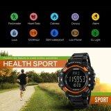 ซื้อ นาฬิกาแบรนด์ Skmei นาฬิกาผู้ชาย 3D Pedometer Heart Rate Monitor กีฬา แคลอรี่เคาน์เตอร์ Chronograph Back Light นาฬิกาดิจิตอล 1180 ใหม่ล่าสุด