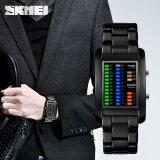 ขาย ซื้อ Skmei แบรนด์ใหม่นิยมแบรนด์ผู้ชายหรูสร้างสรรค์นาฬิกาดิจิตอล Led หน้าปัด 50 เมตรกันน้ำนาฬิกาข้อมือคุณภาพโลหะผสม Band1103 นานาชาติ ใน สมุทรปราการ