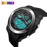 ราคา Skmei Casual Men Digital Wristwatches Alarm Black Light Chrono Pu Strap Sports Watches 1234 Intl ถูก