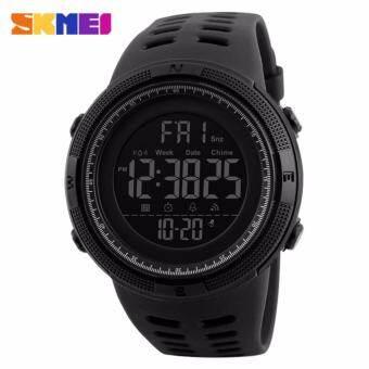 นาฬิกาข้อมือโครโนกราฟกีฬานาฬิกาผู้ชายคู่นับถอยหลังนาฬิกาดิจิตอลนาฬิกาทหารนาฬิกากันน้ำนาฬิกาปลุก - นานาชาติ