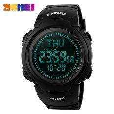 ซื้อ Skmei เข็มทิศกีฬาผู้ชายนาฬิกาเวลาโลกนาฬิกาดิจิตอล 1231 นานาชาติ Skmei เป็นต้นฉบับ