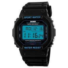 ความคิดเห็น Skmei Digital Wristwatches Men S Led Sports Watches 50M Waterproof Shock Casual Watch 1134 Intl