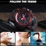 ซื้อ Skmei กีฬานาฬิกาแฟชั่นผู้ชายนาฬิกาควอตซ์แบบคู่นาฬิกา N 50 เมตรกันน้ำนาฬิกาข้อมือ Relogio Masculino 1155B ใหม่