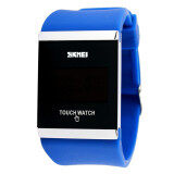 ซื้อ Skmei Fashion High Quality Sports Led Touch Screen Water Resistant Couple Colorful Watch 0983 Blue ถูก ใน จีน