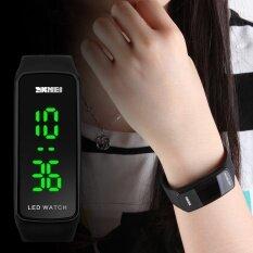 ซื้อ นาฬิกาแบรนด์ Skmei แบรนด์แฟชั่นกีฬาสายนาฬิกาซิลิโคน Led กำไลข้อมือนาฬิกาข้อมือสตรี Relogio Feminino 1119