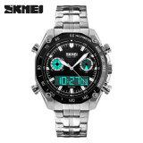 ซื้อ นาฬิกาข้อมือแบรนด์หรูผู้ชายนาฬิกาข้อมือสายคล้องคอคริสตัลแบบแอนะล็อกดิจิตอลนาฬิกากองทัพทหารกีฬานาฬิกา สีดำ Skmei ออนไลน์