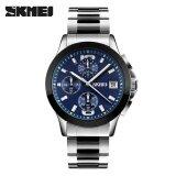 ราคา Skmei Men 9126 Business Quartz Watches Waterproof Wristwatches Blue Intl ออนไลน์ จีน