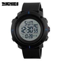 ราคา Skmei Men Sports Watches Military 50M Waterproof Led Digital Watch Clock Men Fashion Outdoor Wristwatches Blue Intl Skmei ออนไลน์