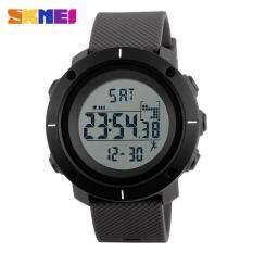 ขาย นาฬิกาข้อมือ Skmei ผู้ชายกีฬานาฬิกา Pedometer แคลอรี่นาฬิกาข้อมือแบบดิจิตอลนาฬิกาโครโนรุ่น Repeater กันน้ำ 1215 สีเทา Skmei เป็นต้นฉบับ