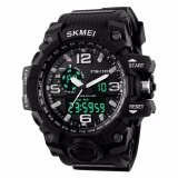 Skmei Men S Analog Quartz Digital Watch Men S Shock Military Watch 50Meter Waterproof Led Light Sports Watches Men 1155 Original Black Intl จีน