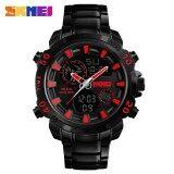 โปรโมชั่น นาฬิกาข้อมือผู้ชายแฟชั่นกีฬานาฬิกาข้อมือกันน้ำชายนาฬิกาแบรนด์หรูนาฬิกาควอตซ์นาฬิกา 1306 นานาชาติ สมุทรปราการ