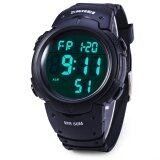 ราคา Skmei Military Army Led Watch Water Resistant Stopwatch Alarm Day Date Function Black Skmei ออนไลน์