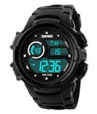 ขาย ซื้อ Skmei Outdoor Sports Ola Sk1113C Multifunctional Waterproof Digital Watch Black Intl ใน จีน