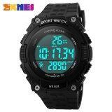 ราคา Skmei Outdoor Sports Watches Men Led 50M Waterproof Digital Pedometer Chronograph Wristwatches 1112 Intl Skmei จีน