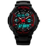 ส่วนลด Skmei S กลัวนาฬิกาดิจิตอล Led กีฬากันน้ำ สีแดง