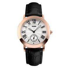 ขาย Skmei นาฬิกาแฟชั่นผู้หญิง สายหนังเทียม สีดำ Skmei รุ่น 1083 ถูก ปทุมธานี