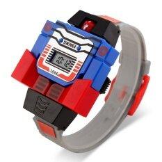 ขาย Skmei นาฬิกาหุ่นยนต์ ดิจิตอล สำหรับเด็ก รุ่น Skmei1095 สีเทา ราคาถูกที่สุด