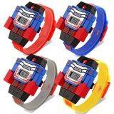 ราคา Skmei นาฬิกาหุ่นยนต์ ดิจิตอล สำหรับเด็ก แพคสี่ รุ่น Skmei1095 สีเหลือง สีแดง น้ำเงิน เทา ออนไลน์ ปทุมธานี