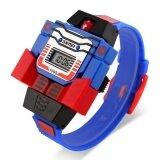 ซื้อ Skmei นาฬิกาหุ่นยนต์ ดิจิตอล สำหรับเด็ก รุ่น Skmei1095 สีน้ำเงิน Skmei เป็นต้นฉบับ