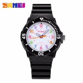 SKMEI Standard นาฬิกาข้อมือผู้หญิง สายเรซิ่น รุ่น 1043