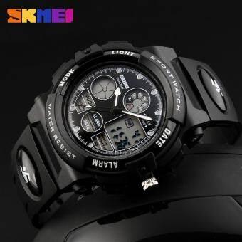 เด็ก 1163 นาฬิกา SKMEI นาฬิกากีฬาทหารแฟชั่นเด็กดิจิตอลควอตซ์ LED นาฬิกาสำหรับเด็กชายกันน้ำการ์ตูนนาฬิกาข้อมือ - นานาชาติ-