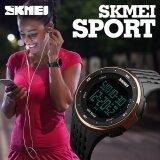 ขาย 1219 Skmei นาฬิกากลางแจ้งกีฬานาฬิกา 50 เมตรกันน้ำว่ายน้ำปีนเขาปลุก Led ดิจิตอลทหารนาฬิกาข้อมือสำหรับผู้ชายนาฬิกาข้อมือผู้หญิง นานาชาติ Skmei