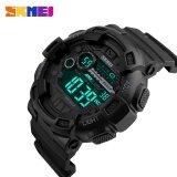 ซื้อ 1243 นาฬิกา Skmei นาฬิกาสปอร์ตผู้ชาย 50 เมตรกันน้ำกลับแสง Led ดิจิตอลนาฬิกาโครโนกราฟช็อตสองเวลา Wristwatches นานาชาติ