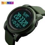 1257 Skmei นาฬิกาผู้ชาย Led ชั่วโมงนาฬิกาข้อมือนาฬิกาข้อมือดิจิตอล นานาชาติ ใน จีน
