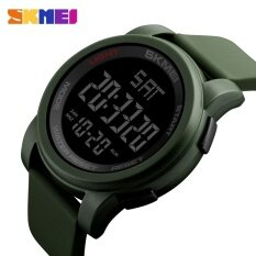 ส่วนลด 1257 Skmei นาฬิกาผู้ชายกีฬา Led ดิจิตอลกลางแจ้งทหารนาฬิกาข้อมือ นานาชาติ