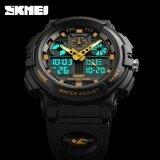 ราคา นาฬิกาข้อมือ Skmei นาฬิกา 1270 Men S Sports จอแสดงผลแบบ Dual Led นาฬิกาทหาร เป็นต้นฉบับ Skmei