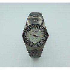 ราคา Skoneนาฬิกาข้อมือผู้หญิงเซรามิกสีขาว รุ่น7087Gหน้าขาว Skone
