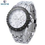 Skone 7389Bg Male Quartz Watch Three Sub Dials Date Luminous Display Wristwatch Skone ถูก ใน จีน