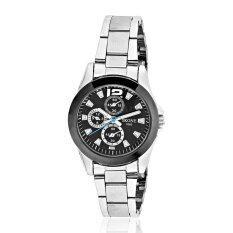 ราคา Skone นาฬิกาข้อมือผู้หญิง รุ่น Skb7063 Black Silver Skone เป็นต้นฉบับ