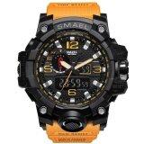 ซื้อ นาฬิกาแบรนด์เนม Smael นาฬิกาผู้ชาย 1545 นาฬิกาใหม่แบรนด์นาฬิกา Led นาฬิกาดิจิตอลควอตซ์นาฬิกากันน้ำสีดำทั้งหมดทหารกีฬาชายนาฬิกา Relogio Masculino ใหม่