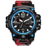 ราคา นาฬิกาแบรนด์เนม Smael นาฬิกาแฟชั่นผู้ชายนาฬิกากันน้ำลวงตานาฬิกานาฬิกาดิจิตอลนาฬิกานาฬิกาข้อมือ Relogio Masculino 1545C Smael เป็นต้นฉบับ